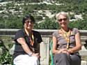 Dominique Candellier (UDA) à gauche et Elizabeth Pastore-Reiss (Ethicity) à droite.