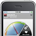 Société Générale développe son appli iPhone