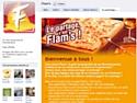 Flam's à la conquête de Facebook