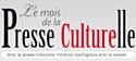 Mois de la presse culturelle
