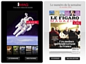 V2 pour l'application du Figaro Magazine