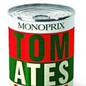 Une boîte de conserve inspirée d'Andy Warhol.