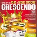 4uatre et la Française des Jeux jouent Crescendo