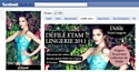Le défilé d'Etam Lingerie retransmis en direct sur Facebook et sur les mobiles