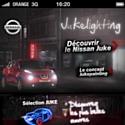 Nissan tente l'expérience du light painting
