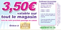 Promotions estivales pour Carte d'Or