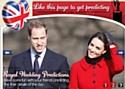 Le mariage princier a son appli Facebook
