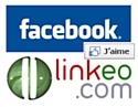 Linkeo personnalise les fan pages deFacebook