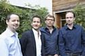 de gauche à droite : Jean Benoit Bataille, Nicolas Czorny, Philippe Bonnet et Olivier Philippe.