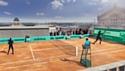 Un terrain de tennis sur le toit des Galeries Lafayette