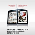 Libération sort une nouvelle version de son application iPad