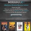 Miramax loue ses films sur Facebook