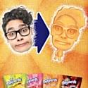 Les bonbons Maynards tirent votre portrait