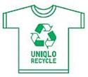 Uniqlo et le 'recyclage tous produits'