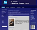 American Express France sort son blog