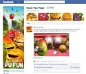 La fan page Oasis sur Facebook