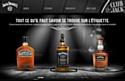Jack Daniel's investit la Toile en français