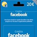 La Fnac vend les cartes Facebook Credits en avant-première