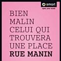 """""""Déjouez la ville"""" par Smart et CLM BBDO"""