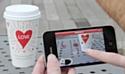 Starbucks fête la Saint-Valentin en réalité augmentée