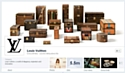 Louis Vuitton relooke sa page Facebook