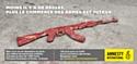 Amnesty International France contre le commerce irresponsable des armes