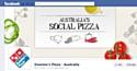 Australie : Domino's Pizza crée la 'pizza sociale'