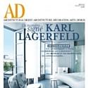 Karl Lagerfeld signe un numéro du magazine 'Architectural Digest'