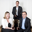 David Garbous, Bérangère Lamboley et Manuel Berquet-Clignet - Personnalités Marketing 2012