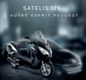Peugeot Scooters dévoile le Satelis 125