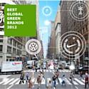Dans le classement 2012, des Best Global Greens Brands, Toyota (n° 1), Johnson & Johnson (n° 2) et Honda (n° 3) sont en tête, tandis que Danone (n° 9), Ford (n° 15), Starbucks (n° 36) et UPS (n° 43) réalisent les meilleures progressions de l'année.