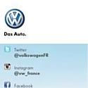 Volkswagen France ouvre ses comptes Twitter et Instagram
