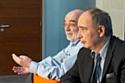 Jean-Marc Lech et Didier Truchot, co-directeurs d'Ipsos