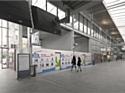 Les 'shopping walls' se développent dans les gares