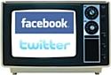 Facebook et Twitter intéressent de plus en plus les chaînes de télévision