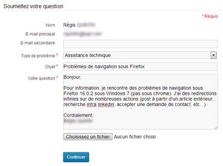 Relation client optimisez votre formulaire de contact - Formulaire de contact ...