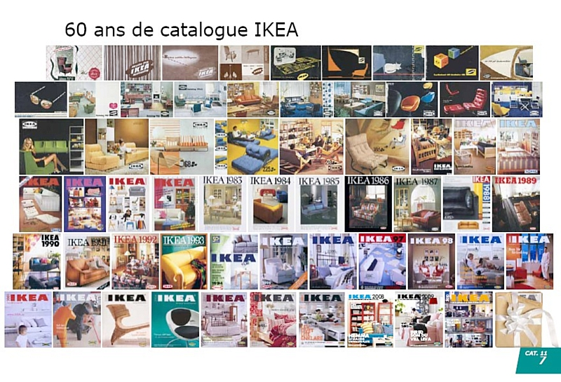 le catalogue ikea f te ses 60 ans. Black Bedroom Furniture Sets. Home Design Ideas