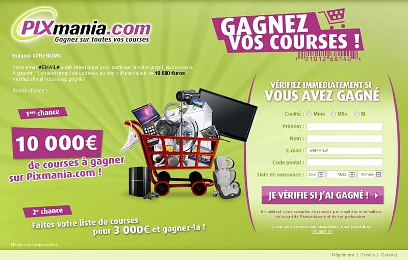 Pixmania Organise Sa Campagne De Recrutement Via Un Jeu Concours