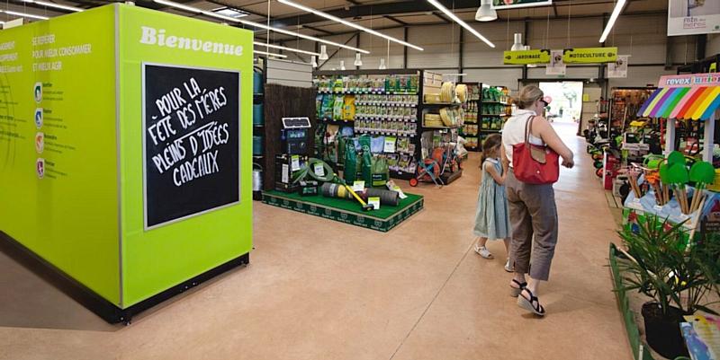 Gamm vert et son nouveau concept for Du jardin a l assiette mauves