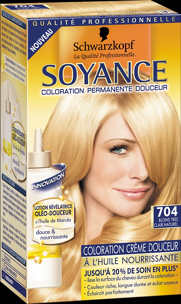 schwarzkopf lance une nouvelle coloration soyance - Coloration Schwarzkopf