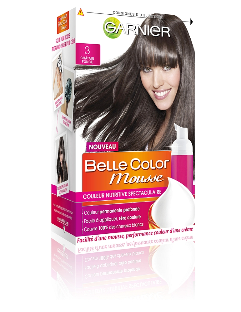 garnier lance belle color mousse - Coloration Groupe 2