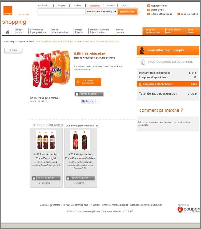 couponnetwork propose ses coupons de r duction sur orange. Black Bedroom Furniture Sets. Home Design Ideas