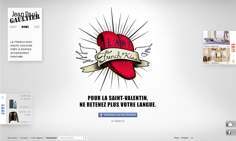 """L'art Par Jean Gaultier Du Bpi Paul Et """"french Kiss"""" UVGpqSzM"""