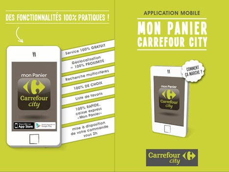 carrefour city teste une appli courses. Black Bedroom Furniture Sets. Home Design Ideas