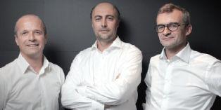 Jean-François Royer, Olivier Chirinian et Bertrand Avril, Uniteam Sport