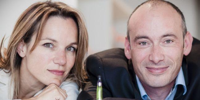 Karin Warin et Eric de Goussencourt co fondateurs de Clopinette