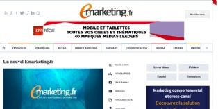 Emarketing.fr, le site de référence des professionnels du marketing, a déployé sa nouvelle version