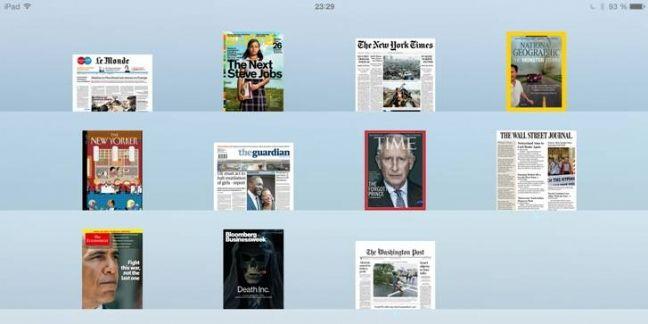 Le Monde élargit sa diffusion numérique au kiosque d'Apple
