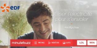 MinuteBuzz crée du contenu viral pour EDF