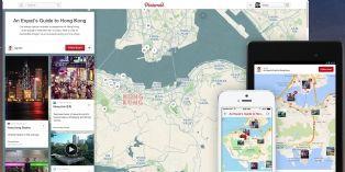 Pinterest lance les épingles géolocalisées